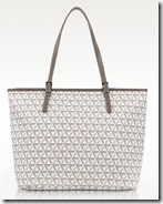 Lancaster Ikon Canvas Tote in Neutral