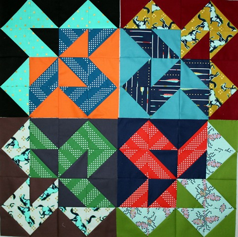 Star Cakes Quilt Blocks