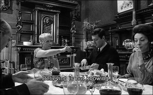 saber não é acreditar Le feu follet (1963) de Louis Malle