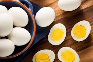 In the egg yolk