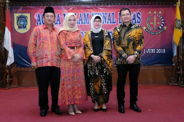 Lepas Kenal Fery Mupahir SH MH Kajari Klaten Gantikan Zuhandi