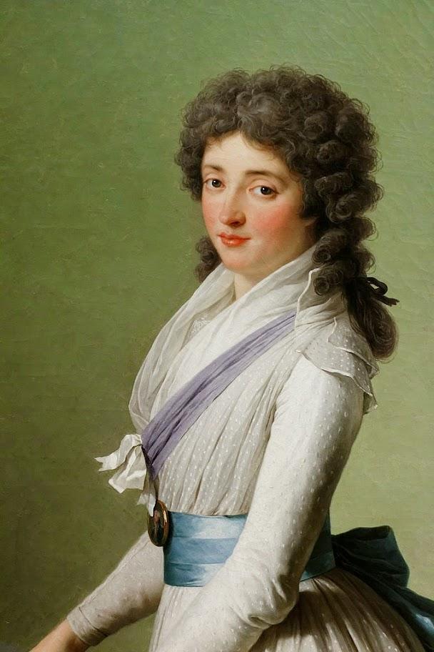 François-André Vincent - Portrait de la baronne de Chalvet-Souville, née Marie de Broutin, Vincent (Louvre RF 1998-5)