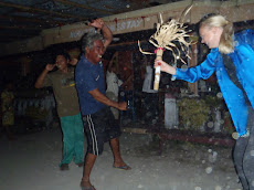 Me attempting traditional Indonesian dance