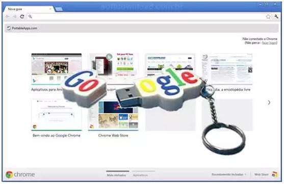 Download do Google Chrome Portable