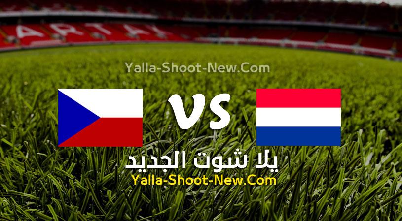 مباراة هولندا و التشيك