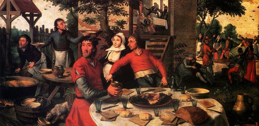 Pieter Aertsen - Peasant's Feast