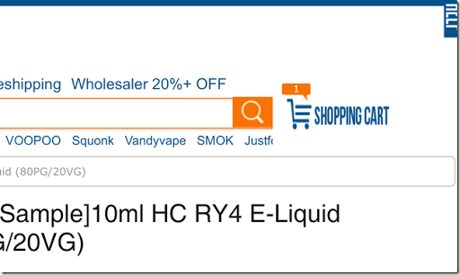 IMG 0265 thumb%255B1%255D - 【TIPS】海外通販生活#08 電子タバコ/VAPE通販サイトHealth Cabinの登録と購入方法を解説【海外通販が初めての方も安心!超簡単、これであなたも海外通販デビュー!!】