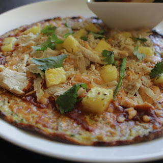 Pineapple Jalapeno Low-Carb BBQ Chicken Pizza