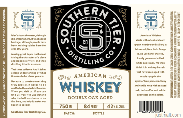 Southern Tier Distilling - American Whiskey