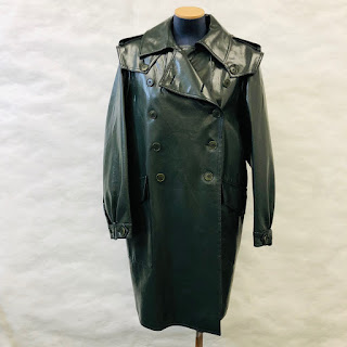 *SALE* Moschino Cheap & Chic Leather Trench