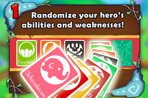 Adventure Land - Wacky Rogue Runner Free Game screenshot 2