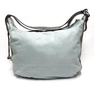 Furla Baby Blue Leather Handbag