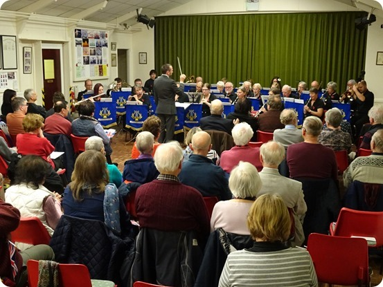 Crewe Concert Band perform conducted by their new Musical Director Adam Shilton