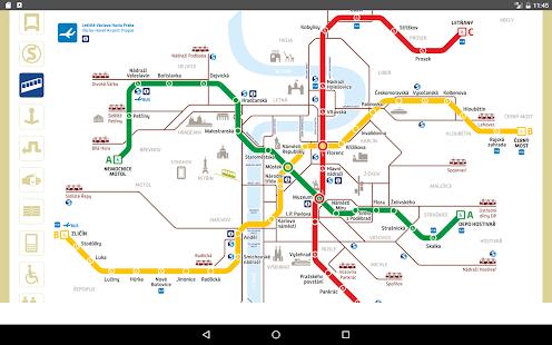 Prague Metro Map 2017 Google Play Programos