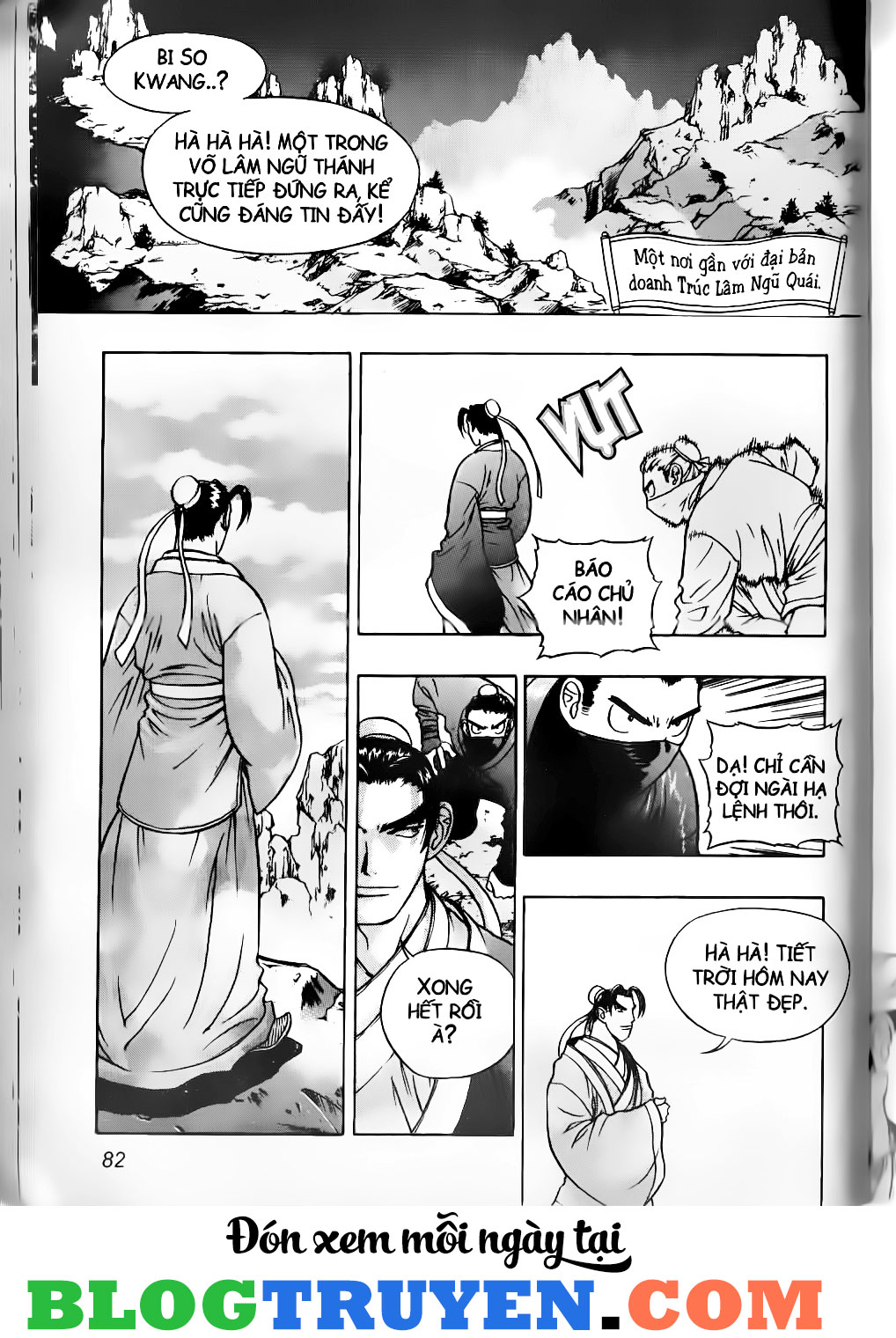 Thiên Lang Liệt Truyện Scan Chap 5 - Truyen.Chap.VN