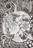 545 Zentangle Flowers