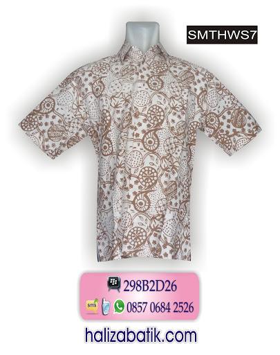 mode batik modern, toko baju batik, model baju kantor