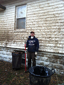 Hurricane Sandy clean up in Rockaway Beach.