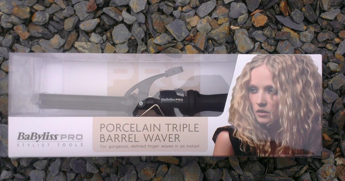 Review Babyliss Porcelain Triple Barrel Waver Heidi Likes