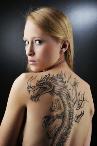 dragon tattoos girls