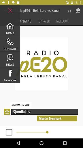Radio pE20 - Hela Lerums Kanal  screenshots 2