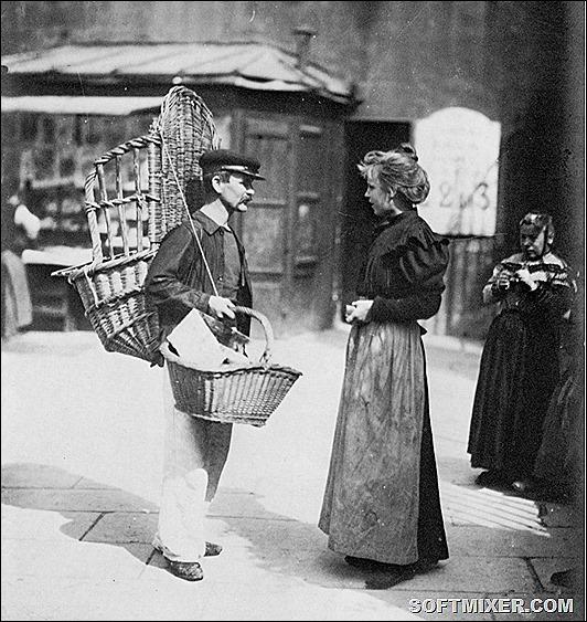 Старый Париж в объективе Эжена Атже