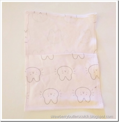 Fold the fabric at the bottom and sew on the sides to form a pocket with the rest of the fabric being the flap.