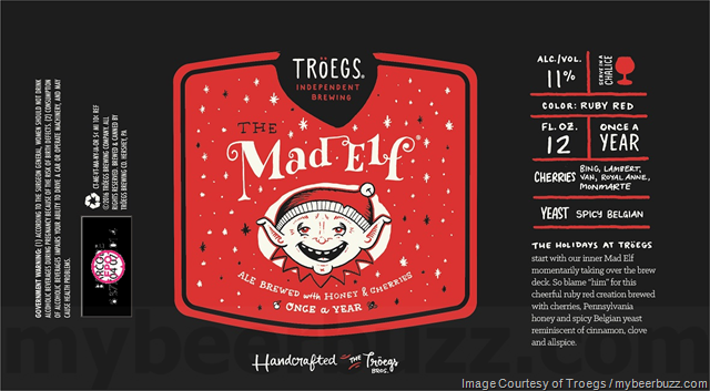 Troegs Mad Elf Cans