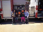 Irving Fire Department comes to visit!