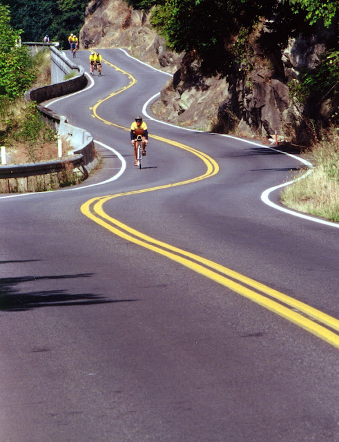 Chuckanut Drive is a scenic highway that is enjoyed by both motorists and bicyclists.Credit: Robert James
