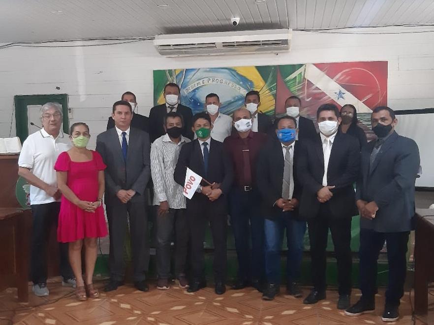 Em audiência com o ICPET, Câmara de Vereadores do município de Belterra, confirma participação na comitiva pró estado do Tapajós a Brasília.