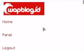 Tampilan Wapblogid Lewat Hp
