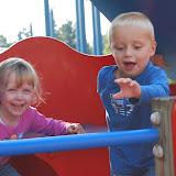 Vandaag is het feest want ik ben met mijn vriendje Jenne in het Boudewijnpark!