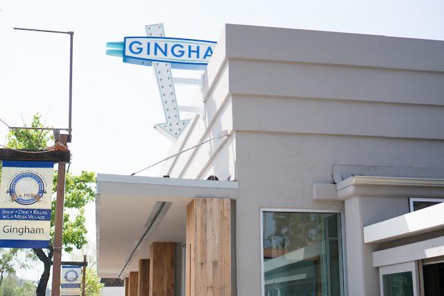 Gingham Restaurant San Diego