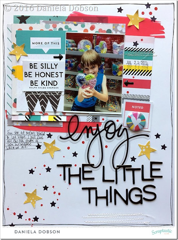 Enjoy the little things by Daniela Dobson