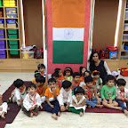 Independence Day Celebration by Pre-primary Section at Witty World (2015-16)