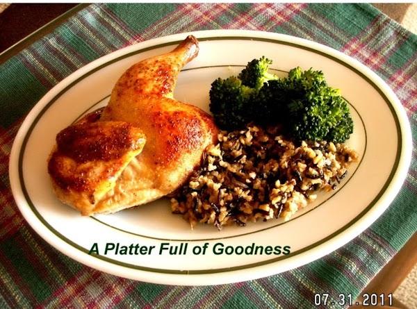 Rock Cornish Hen And Wild Rice Recipe