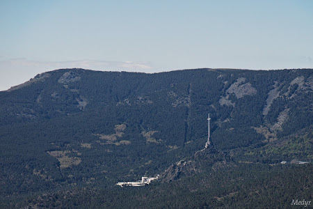 Valle de los caidos desde cerro piñonero