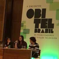 Amanda Aouad no Obitel - USP - 2015