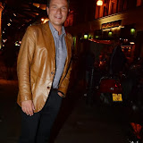 WWW.ENTSIMAGES.COM -     Richard Arnold leaving         The Commitments - press night  at Palace Theatre, Shaftesbury Avenue, London, October 8th 2013                                             Photo Mobis Photos/OIC 0203 174 1069
