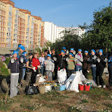 Собрано более 10 мешков мусора