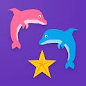 Dolphin Racing - Genius Quiz Board Game icon