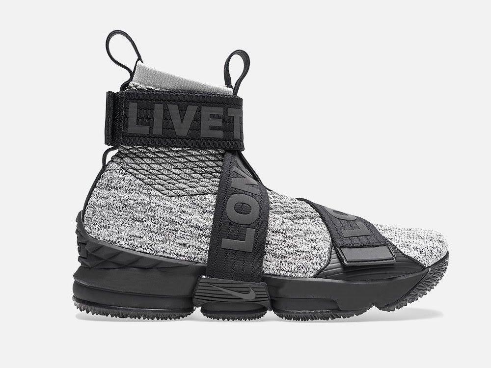 973196fd530 ... Detailed Look at KITH X Nike LeBron 15 Lifestyle Concrete ...