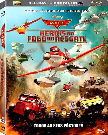 Aviões 2: Heróis do Fogo ao Resgate BRrip Blu-Ray 1080p Dublado – Torrent