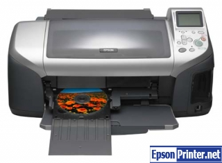 How to reset Epson E-300 by program