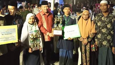 Wakili Dailami, Sekda Hadiri Penutupan MQK Tahun 2021 yang Diselenggarakan Oleh Pemerintah Aceh