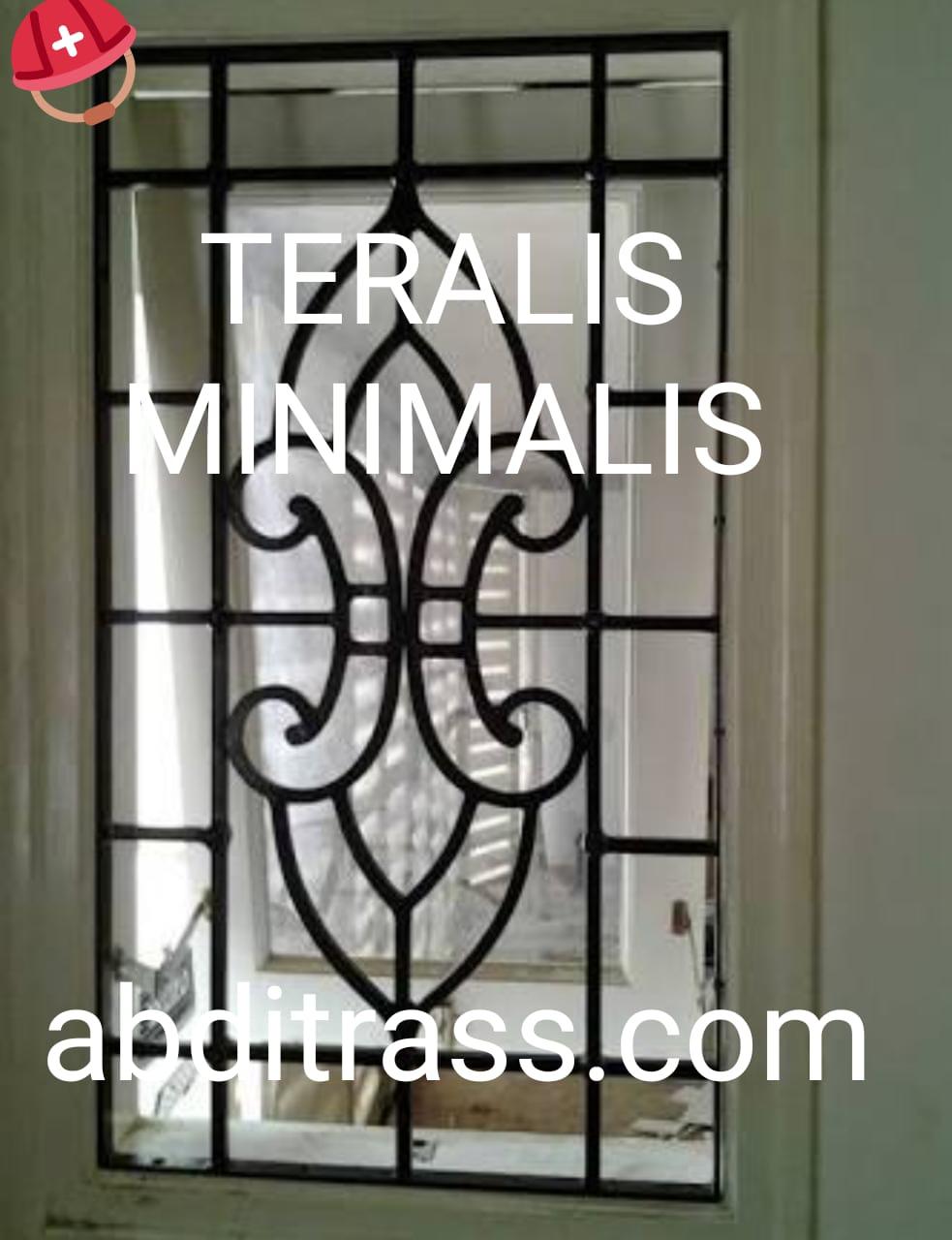 Teralis Jendela Minimalis Besi Dan Stainless Steel