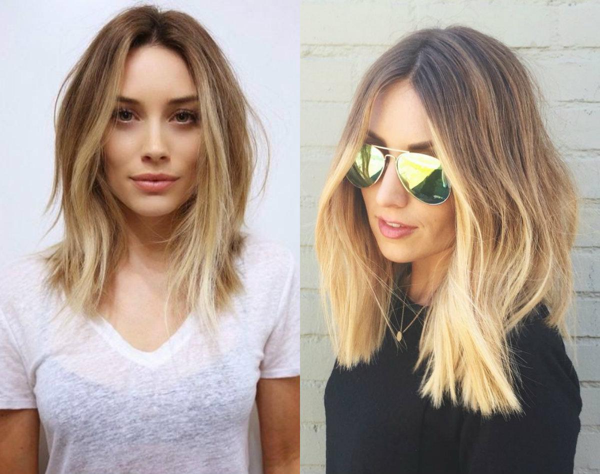 2018 Mid Length Hair For Women's 3