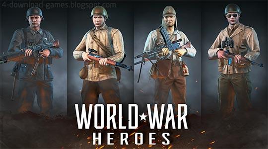 ابطال الحرب العالمية - World War Heroes