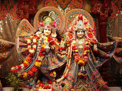 Radhe Krishna Shringar on Festival